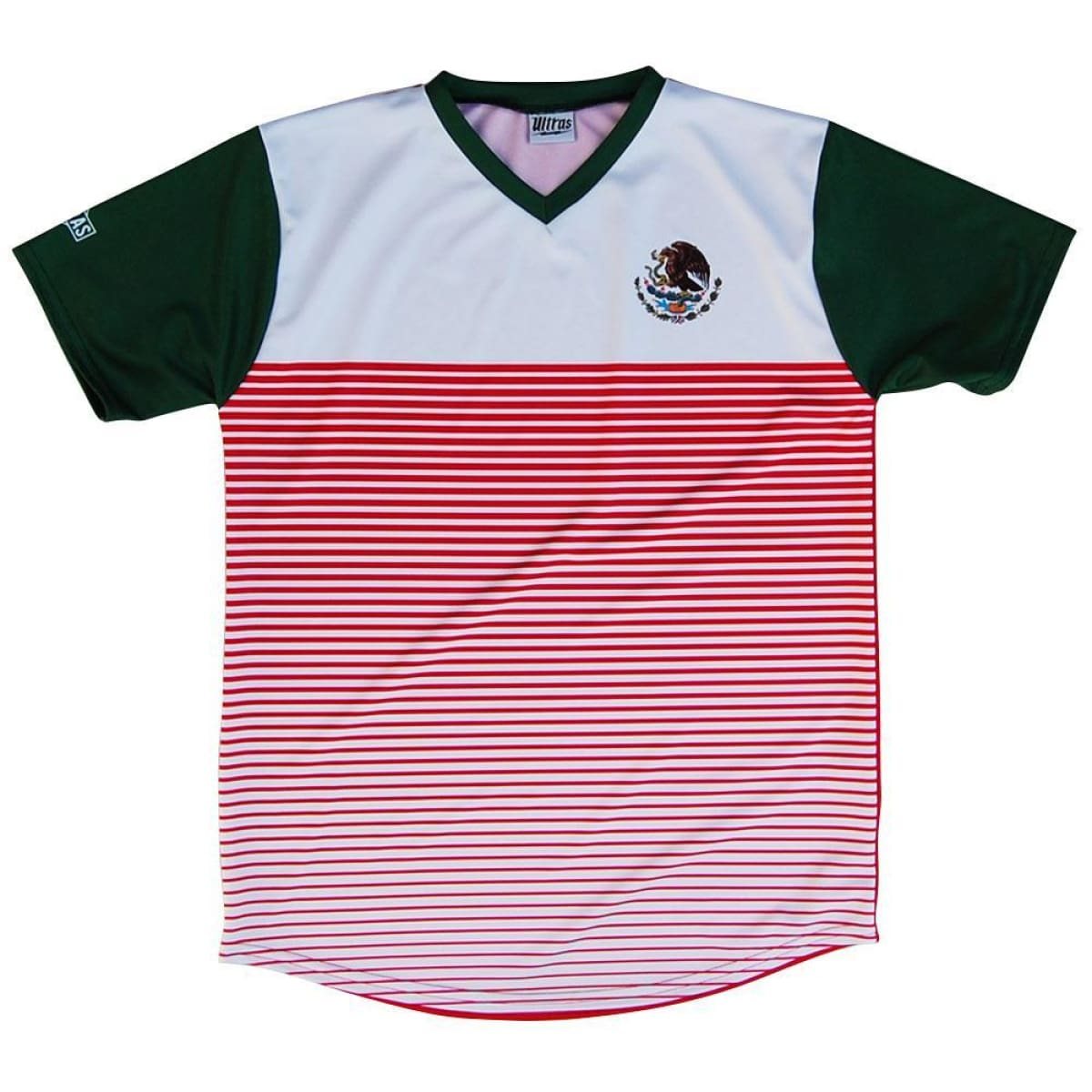 Mexico Rise Ultras Soccer Jersey - Red / Toddler 1 / No - Soccer Jersey
