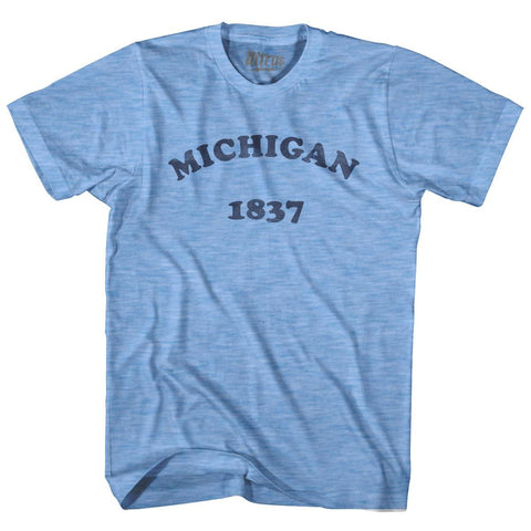 Ultras - Michigan State 1837 Adult Tri-Blend Vintage T-shirt