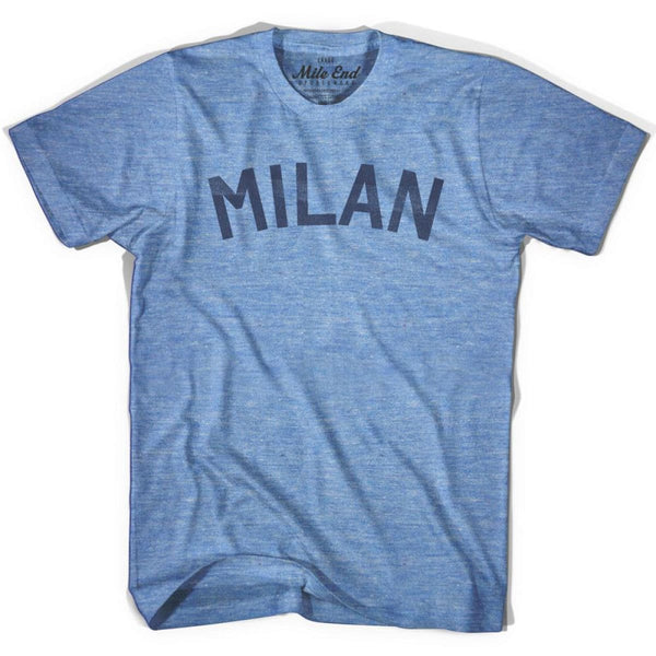 Milan City Vintage T-shirt - Athletic Blue / Adult X-Small - Mile End City