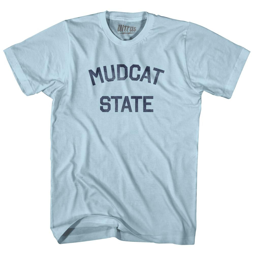 Mississippi Mudcat State Nickname Adult Cotton T-shirt by Ultras
