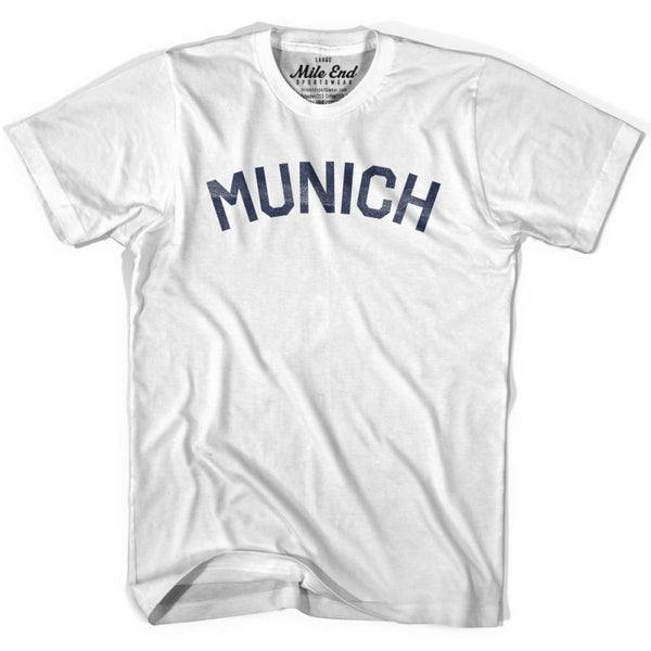 Munich City Vintage T-shirt-Adult - Mile End City