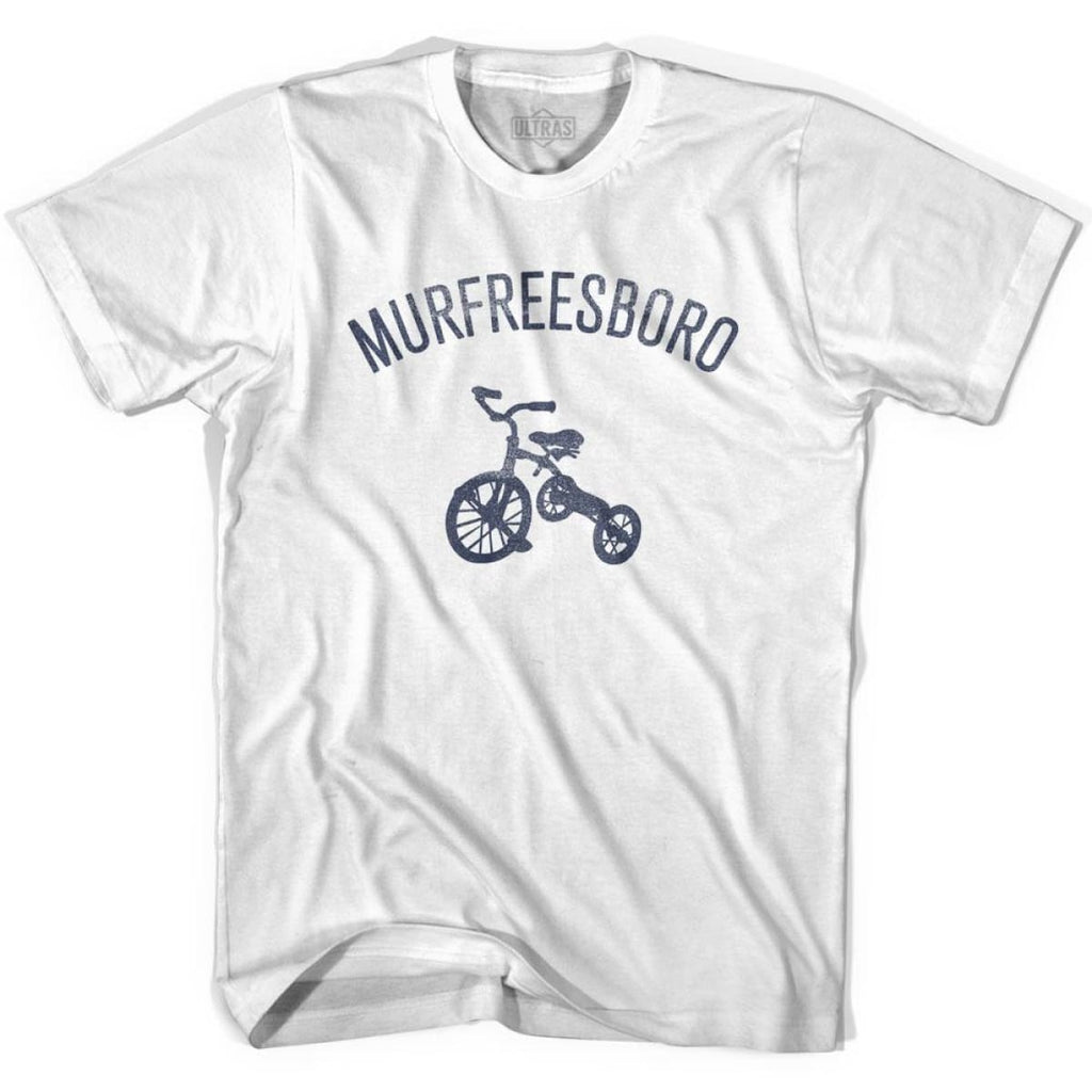 Murfreesboro City Tricycle Womens Cotton T-shirt - Tricycle City