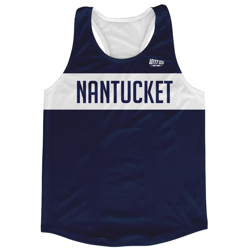 Nantucket Finish Line Running Tank Top Racerback Track & Cross Country Singlet Jersey by Ultras