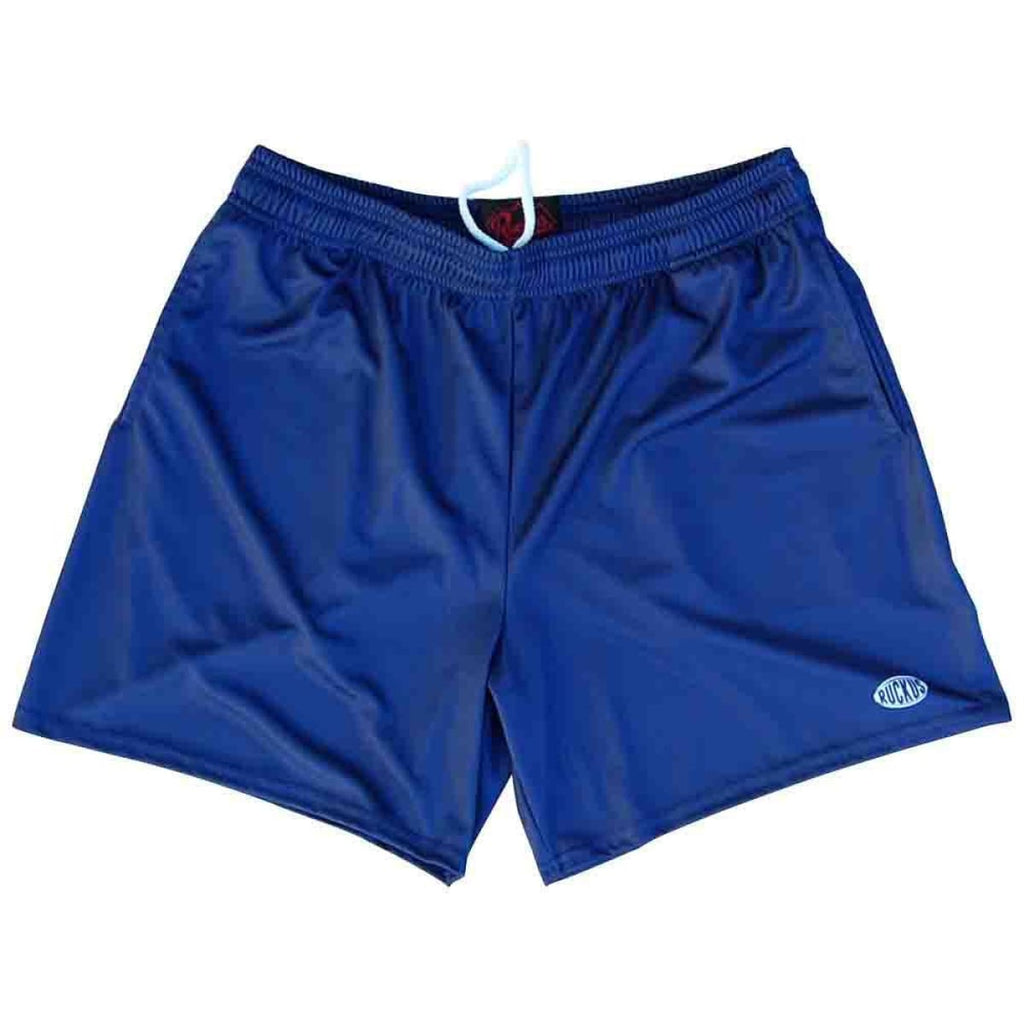 Navy Ruckus Rugby Shorts - Navy / Adult Small - Rugby Cut Training Shorts