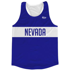 Nevada Finish Line Running Tank Top Racerback Track and Cross Country Singlet Jersey - Royal Blue / Adult X-Small - Running Top