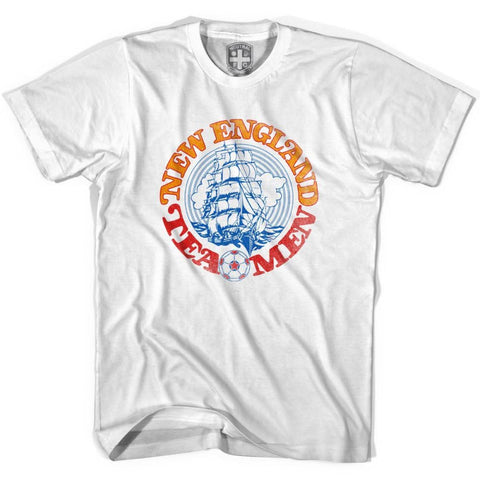 New England Tea Men T-shirt-Adult - White / Adult Small - Ultras Soccer T-shirts