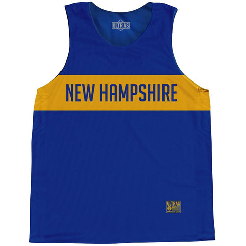 New Hampshire Finish Line State Flag Basketball Singlets