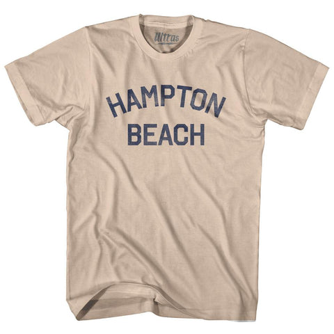 New Hampshire Hampton Beach Adult Cotton Vintage T-shirt by Ultras