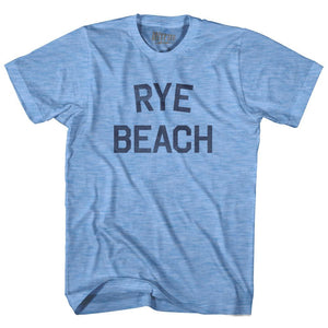 New Hampshire Rye Beach Adult Tri-Blend Vintage T-shirt by Ultras