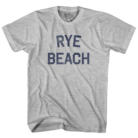 New Hampshire Rye Beach Adult Cotton Vintage T-shirt by Ultras