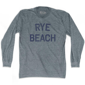 New Hampshire Rye Beach Adult Tri-Blend Long Sleeve Vintage T-shirt by Ultras