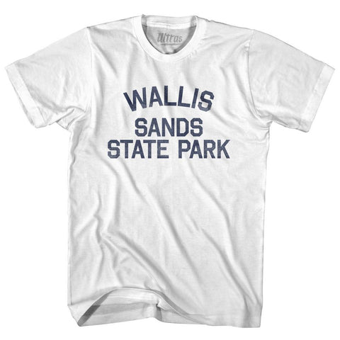 New Hampshire Wallis Sands State Beach Adult Cotton Vintage T-shirt by Ultras