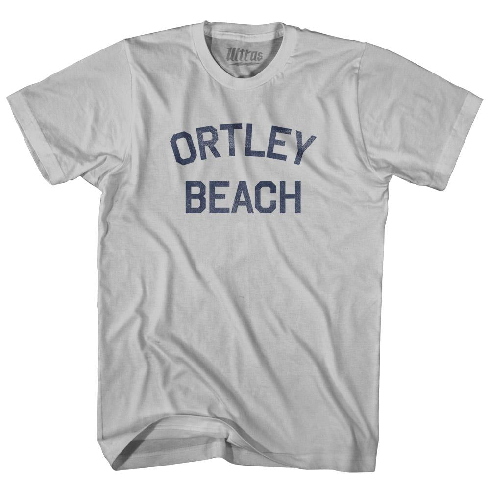 New Jersey Ortley Beach Adult Cotton Vintage T-shirt by Ultras