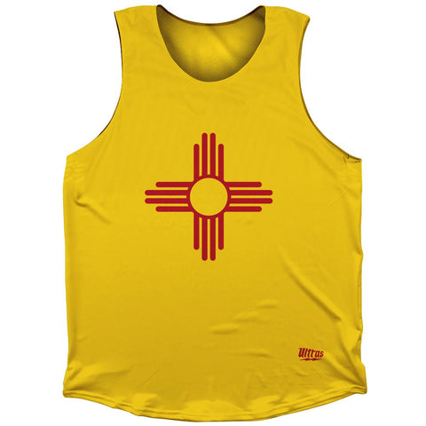 New Mexico State Flag Athletic Tank Top by Ultras