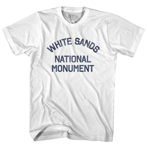 New Mexico White Sands National Monument Adult Cotton Vintage T-shirt by Ultras