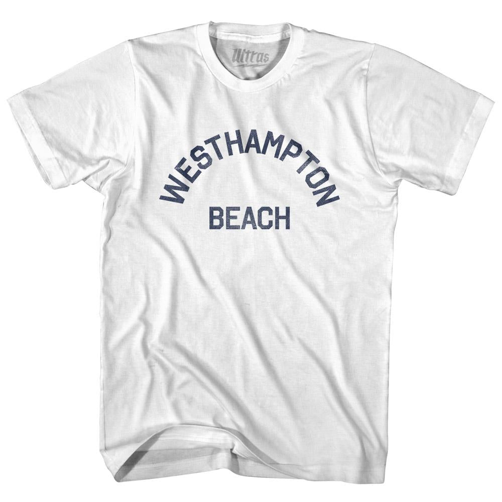 New York Westhampton Beach Adult Cotton Vintage T-shirt by Ultras