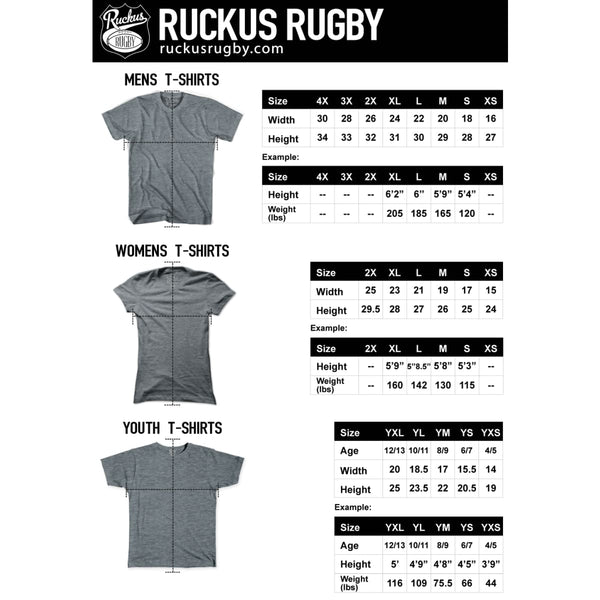 New Zealand Fern Rugby T-shirt - Rugby T-shirt