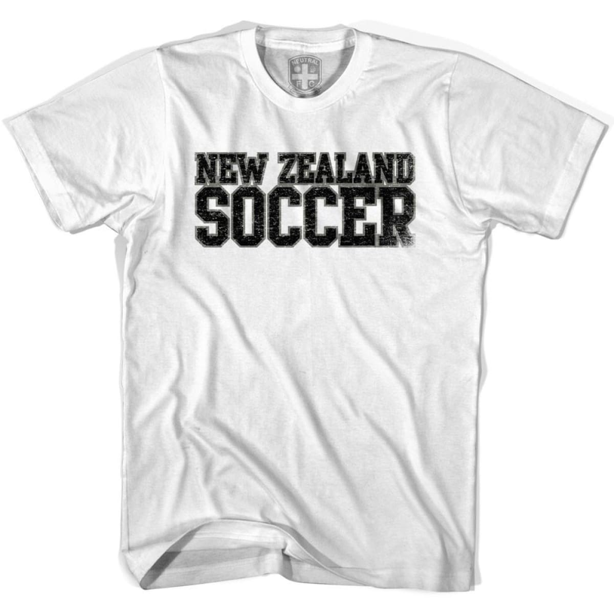 New Zealand Soccer Nations World Cup T-shirt - White / Youth X-Small - Ultras Soccer T-shirts