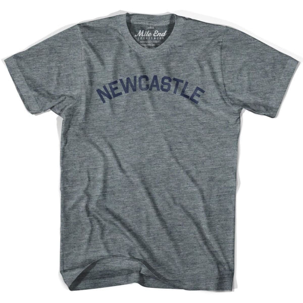 Newcastle City T-shirt - Athletic Grey / Adult X-Small - Mile End City