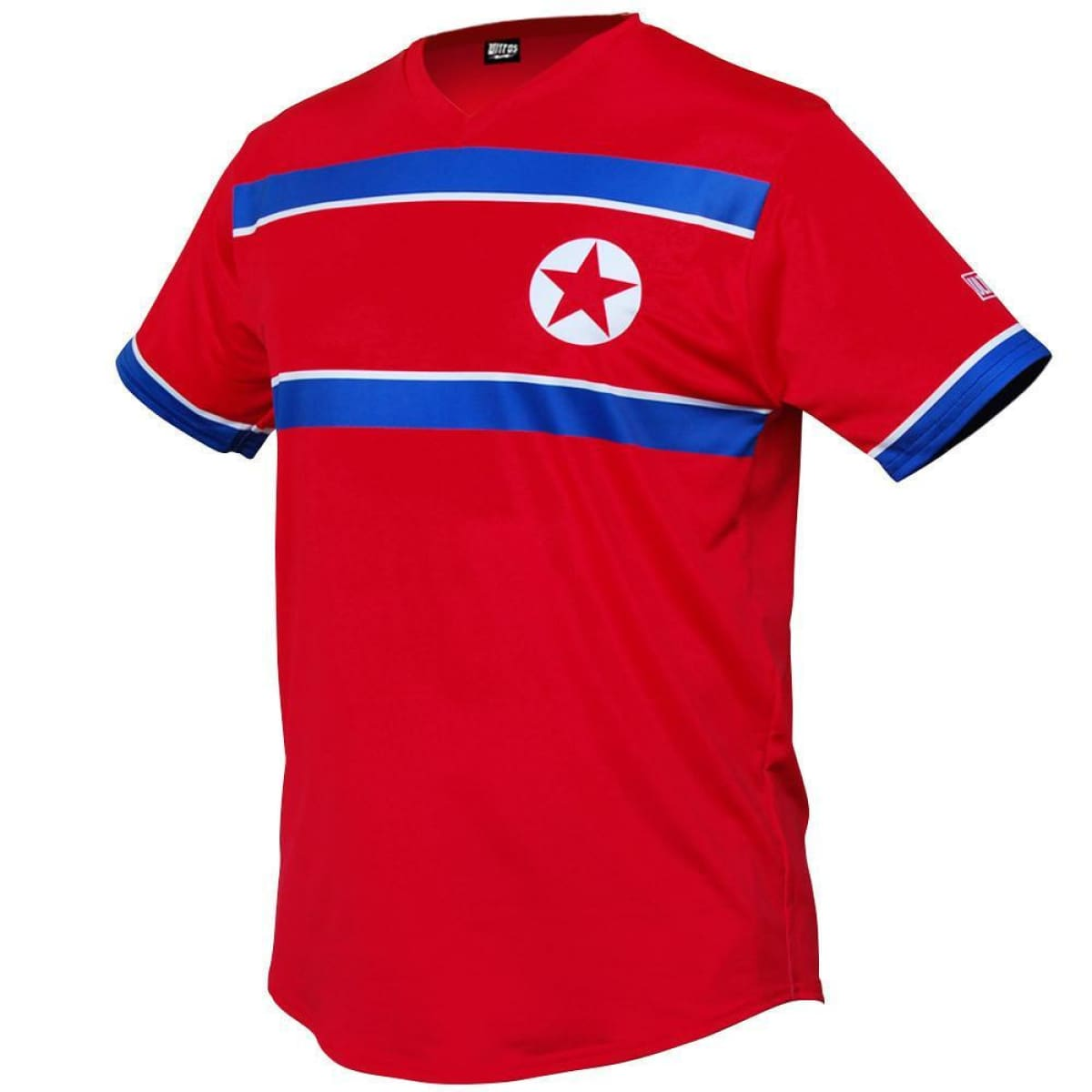 North Korea Star Soccer Jersey - Red / Toddler 1 / No - Ultras Country Soccer Jerseys