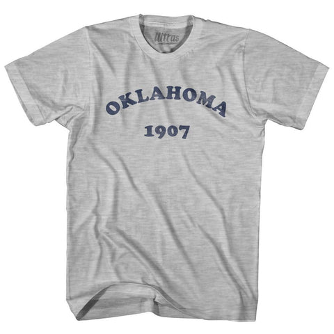 Ultras - Oklahoma State 1907 Womens Cotton Junior Cut Vintage T-shirt