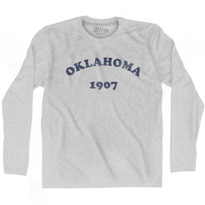 Ultras - Oklahoma State 1907 Adult Cotton Long Sleeve Vintage T-shirt