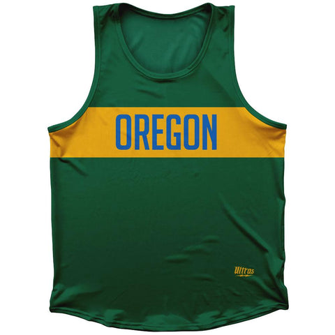 Oregon Finish Line Athletic Sport Tank Top Made In USA by Ultras