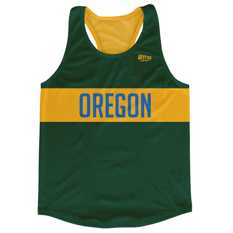 Oregon City Finish Line Running Tank Top Racerback Track and Cross Country Singlet Jersey by Ultras