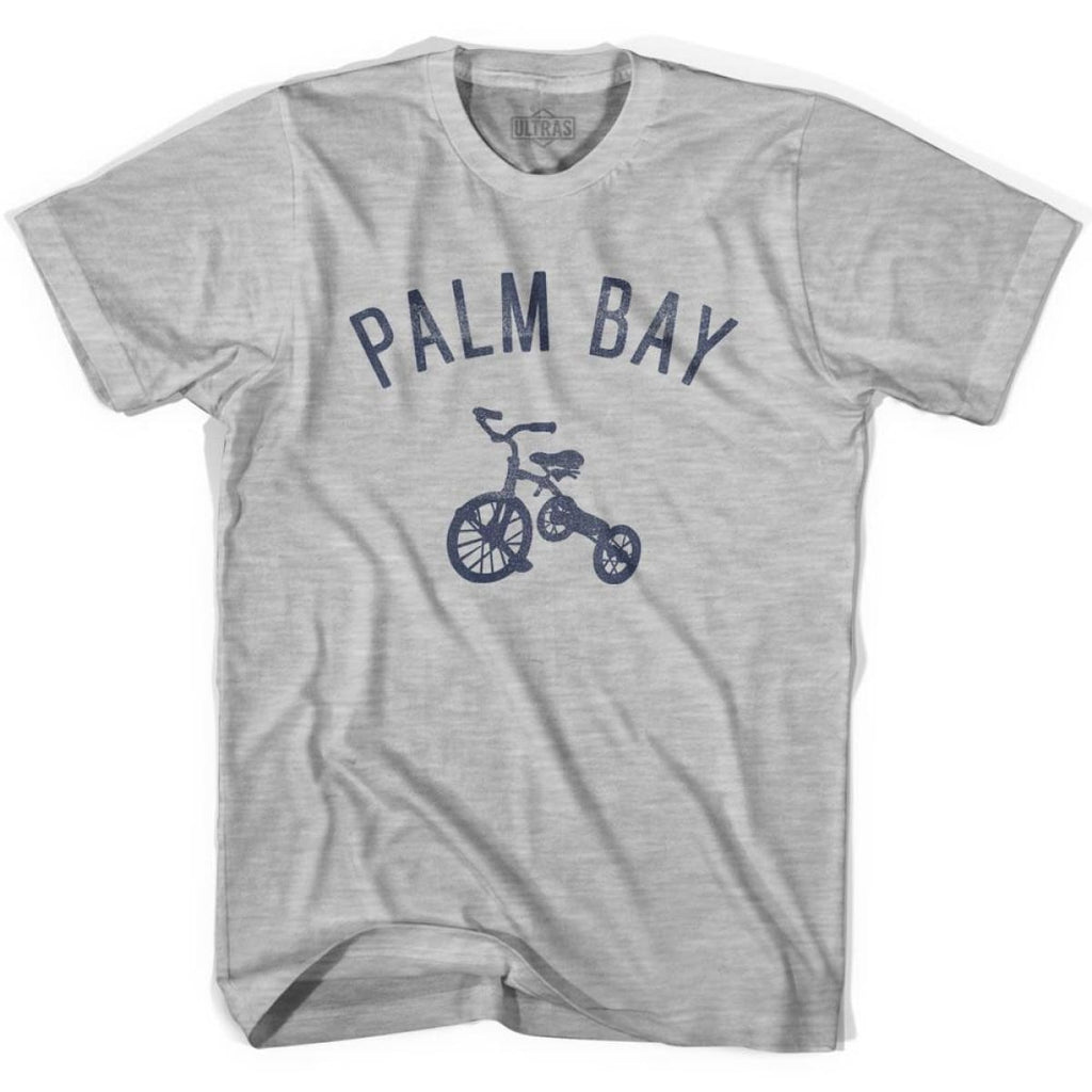 Palm Bay City Tricycle Womens Cotton T-shirt - Tricycle City
