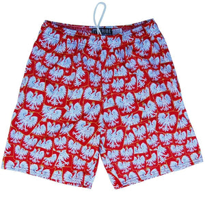 Poland Ploska Party Lacrosse Shorts - Tribe Lacrosse Shorts