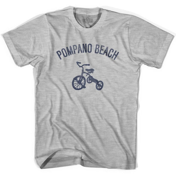Pompano Beach City Tricycle Womens Cotton T-shirt - Tricycle City