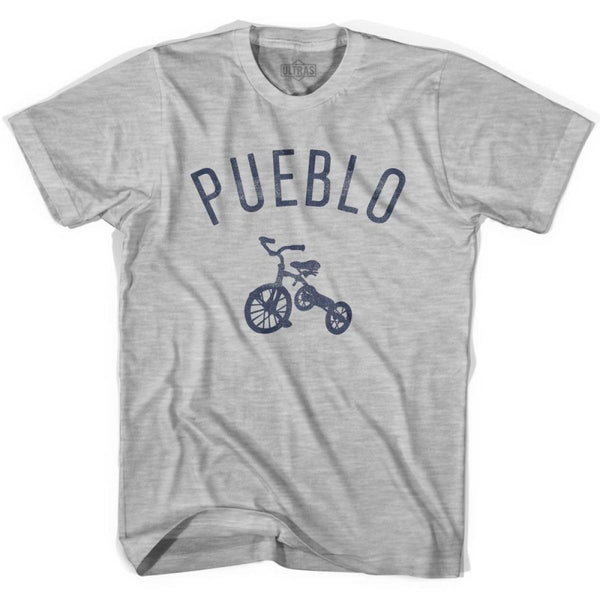 Pueblo City Tricycle Womens Cotton T-shirt - Tricycle City