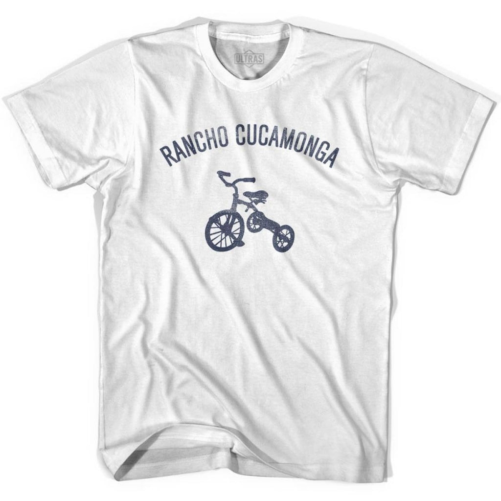 Rancho Cucamonga City Tricycle Womens Cotton T-shirt - Tricycle City