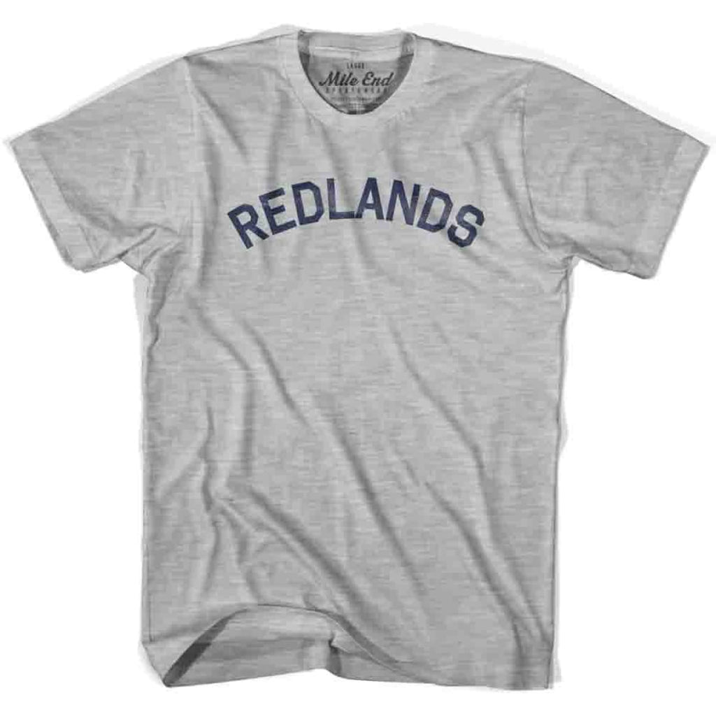 Redlands City Vintage T-shirt - Grey Heather / Youth X-Small - Mile End City