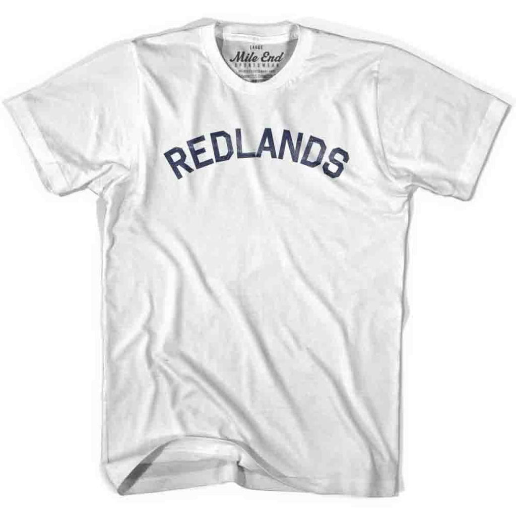 Redlands City Vintage T-shirt - White / Youth X-Small - Mile End City