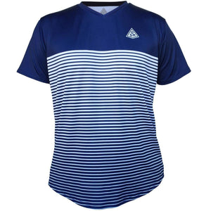 Rise GSM Tennis Shirt - Navy-White / Youth X-Small / No - Tennis Shirts
