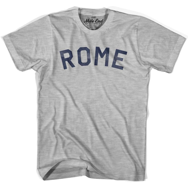 Rome City Vintage T-shirt - Grey Heather / Youth Small - Mile End City