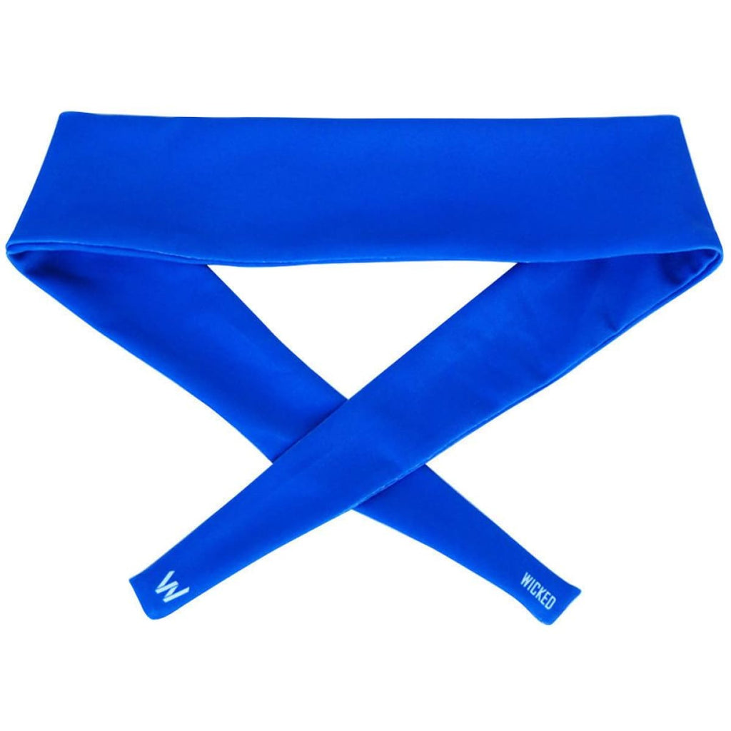 Royal Blue Elastic Tie 2.25 Inch Headband