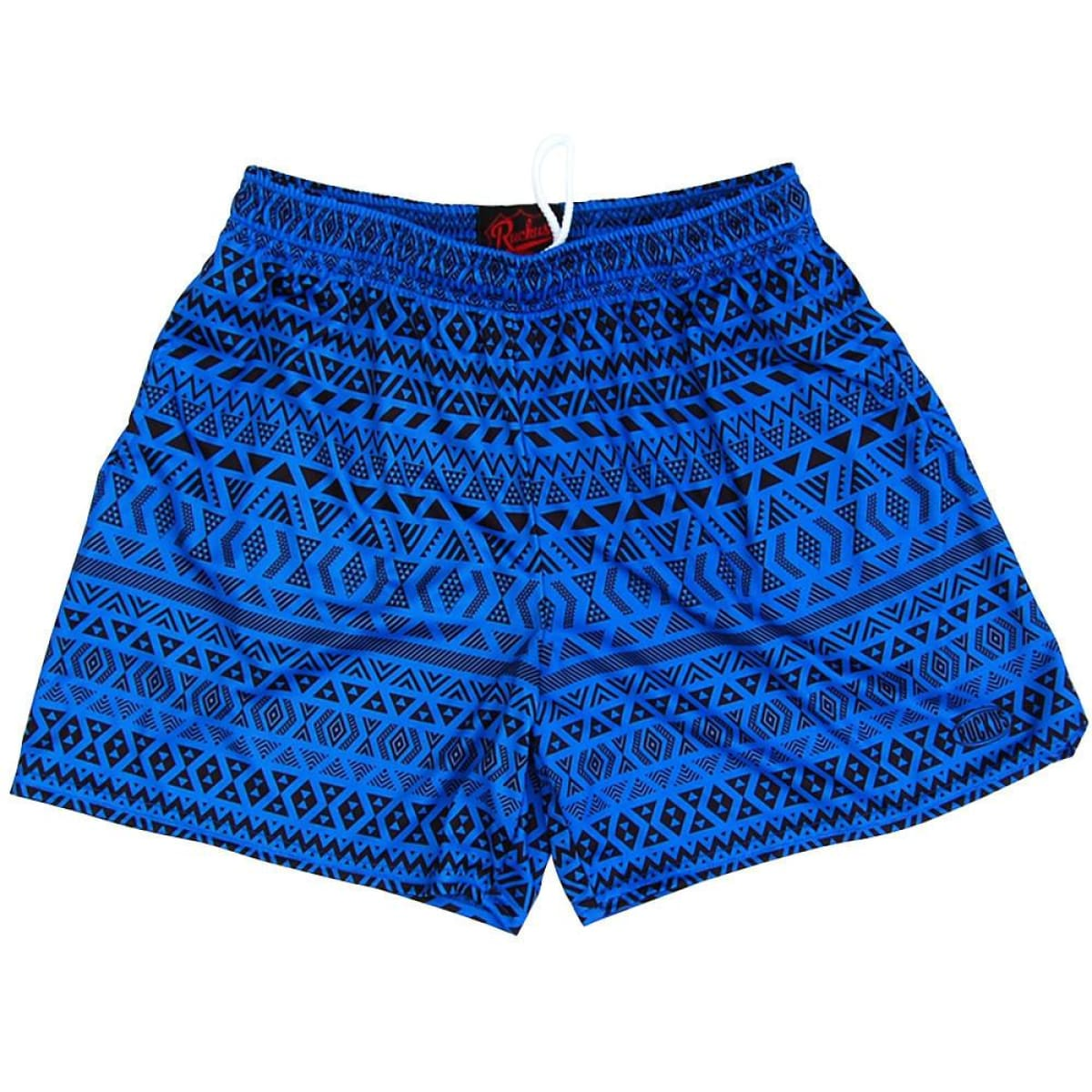 Ruckus Maori Rugby Shorts - Cyan / Adult Small - Rugby Cut Training Shorts