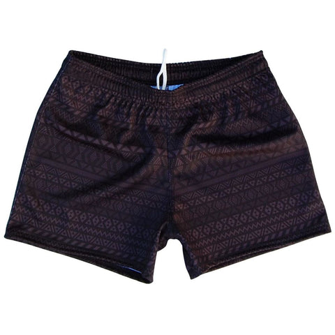 Ruckus Maori Rugby Union Shorts - Black / Adult Small - Rugby Union Shorts