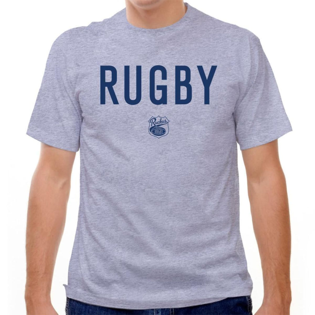 Rugby T-shirt - Grey Heather / Youth X-Small - Rugby T-shirt