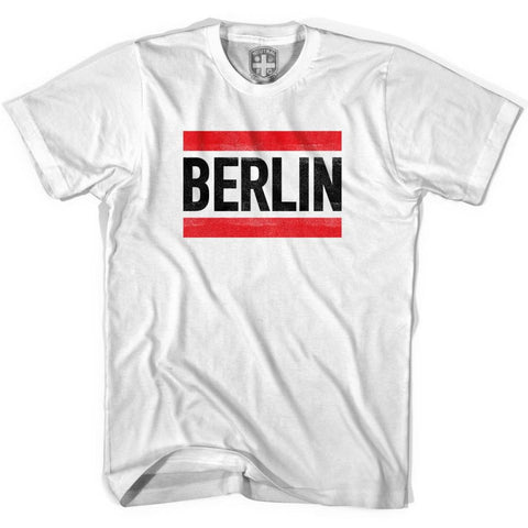 Run Berlin T-shirt - White / Youth X-Small - Ultras Soccer T-shirts
