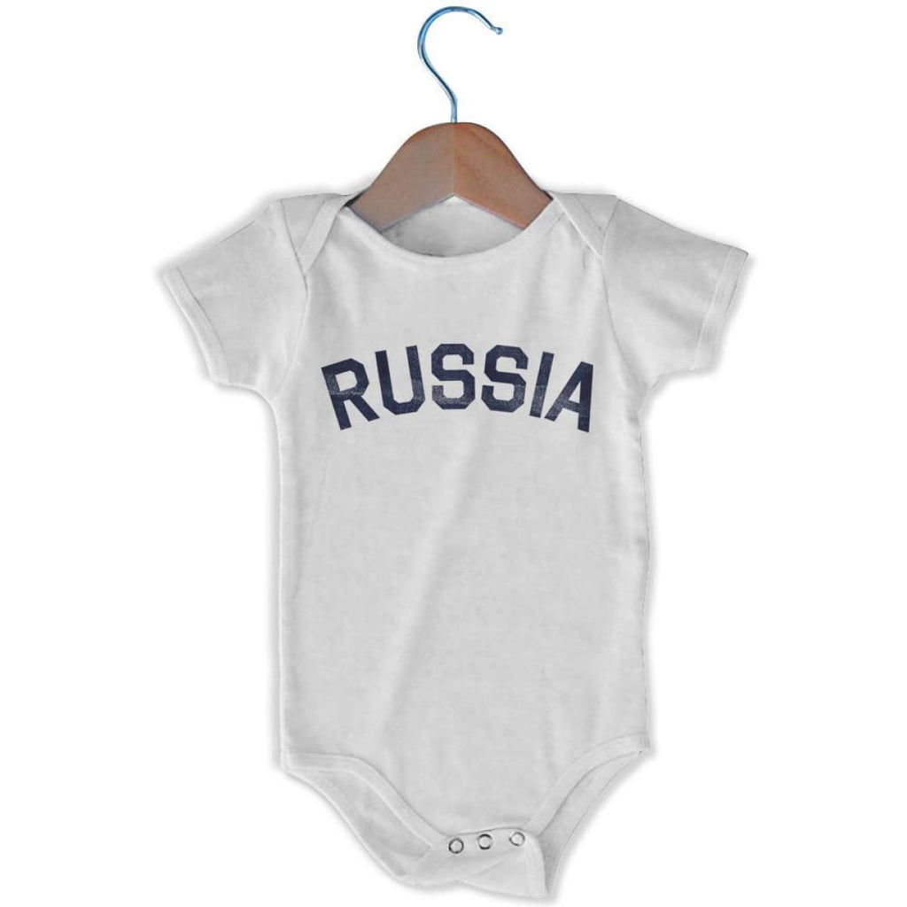 Russia City Infant Onesie - White / 6 - 9 Months - Mile End City