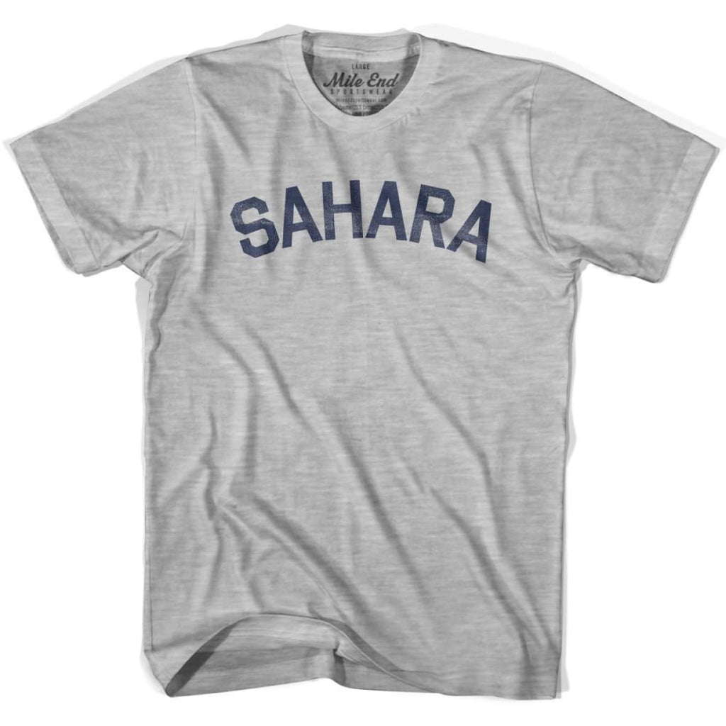 Sahara City Vintage T-shirt - Grey Heather / Youth X-Small - Mile End City