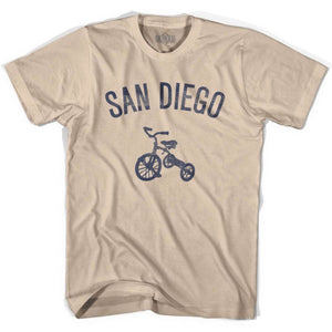 San Diego City Tricycle Adult Cotton T-shirt - Tricycle City
