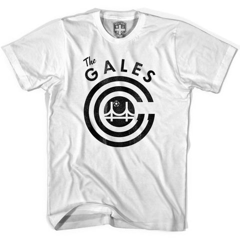 San Francisco Gales Soccer T-shirt - White / Youth X-Small - Ultras Soccer T-shirts