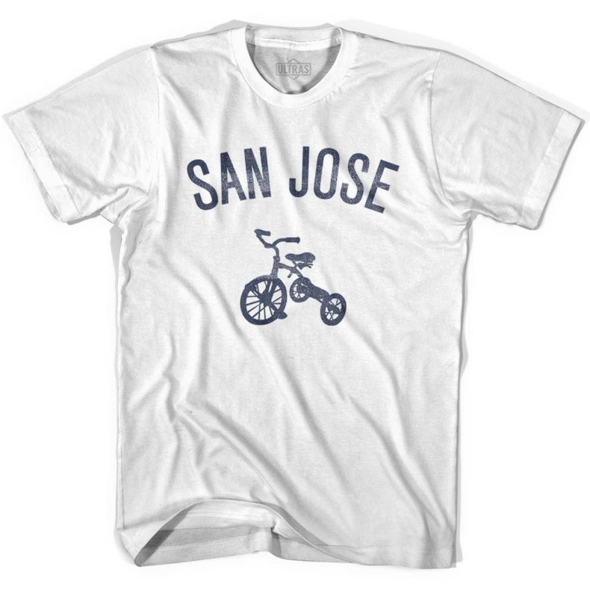 San Jose City Tricycle Womens Cotton T-shirt - Tricycle City