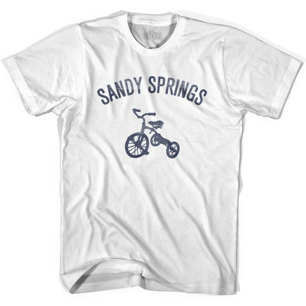 Sandy Springs City Tricycle Youth Cotton T-shirt - Tricycle City