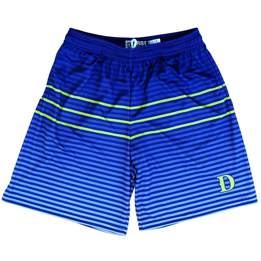 Santa Monica Dragons D Lacrosse Shorts - Navy / Youth X-Small - Tribe Lacrosse Shorts