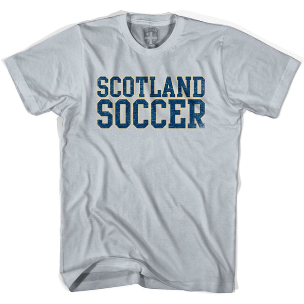 Scotland Soccer Nations World Cup T-shirt - Silver / Youth X-Small - Ultras Soccer T-shirts